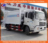 Load posteriore 8cbm Garbage Compactor Truck in Dongfeng Garbage Truck