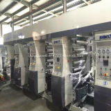 Tres motor de la máquina de impresión en huecograbado 130 m / min
