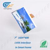 7 16:9 de taux de pouce 1024 (RVB) modules d'écran du TFT LCD X600