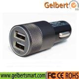 Heiß, schnell aufladende Doppel-USB-Handy-Auto-Aufladeeinheit verkaufend
