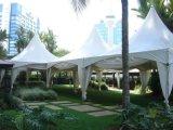 Delux falsches Wetter-beständige Strand-Pagode-Zelte für Ereignisse oben knallen