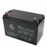 bateria 12V acidificada ao chumbo selada 100ah para a energia eléctrica