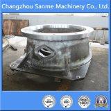 Las piezas de maquinaria de explotación minera bajan el shell