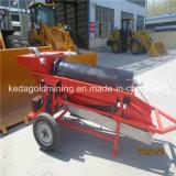 Máquina aluvial portable modificada para requisitos particulares de la criba de la arandela del oro para la venta