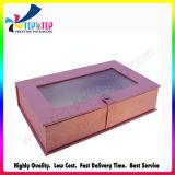 Коробка подарка OEM красивейшей конструкции бумажная с ясной верхней частью окна