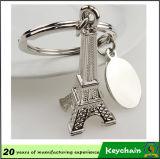 Colgante caliente Keychain de la llave de los pares del ancla del timón de la venta