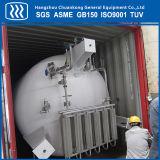 低温液化ガスの二酸化炭素の貯蔵タンク