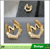 Uomo Apparel Fashion Gold e Pin di Silver Metal Eagle Lapel