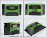 Bildschirmanzeige des freies Beispiel 12V24V 30A 40A 50A 60A LCD Solarladung-Controller für SolarStromnetz