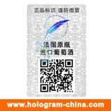 3D Stickers van het Hologram van de Veiligheid van de Laser met de Druk van de Code Qr