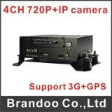 2016 Nieuwe Aankomst Mnvr, de Werken met IP Camera, de Video van 4 Kanaal 720p
