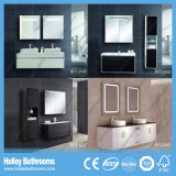 Deux LED Touch Switch High Gloss Paint Double Sink Modern Bathroom Cabinet (BF126D)