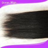 Hochwertige brasilianische Jungfrau Remy gerades Haar-Extension (ST-002)