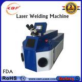 Máquina de soldadura ereta do laser da jóia para o reparo do ouro/jóia