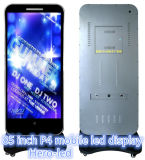 Móvil de interior LED Dsplays de la definición de /High de las exhibiciones de LED del C-Teléfono de la forma de P3.33 Fashional