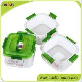 安いカスタムプラスチックCrisperの新しい円形の食糧容器