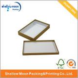 Boîte de cadeau de papier faite sur commande de belle conception (QYZ060)