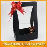 Коробка подарка цветка ручки гофрированной бумага