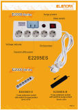 USBとの5 Cavaty Electrical Extension Socket (Schukoモデル)