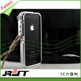 Caixa abundante do telefone do metal de alumínio do braço mecânico do disparador para o iPhone 6s