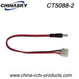 Conector da Alimentação de DC do CCTV de 20AWG 30cm com Bloco Terminal (CT5088-2)
