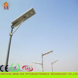 높은 Efficiency 5 Years Warranty Integrated Solar LED Street Light 80W