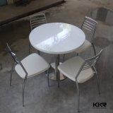 Caffè di marmo bianco moderno che pranza le Tabelle del ristorante