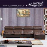 Función de masaje de cuero del sofá (908 #)