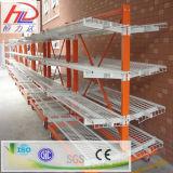 Estante voladizo del acero de los estantes del almacenaje resistente profesional