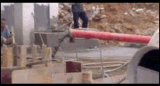 MixerのディーゼルConcrete Pump