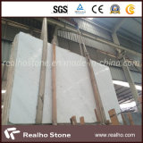 La Cina Domestic White Marble Slab per Wall Decoration