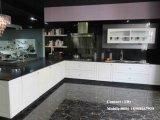 Armadio da cucina lucido in bianco e nero popolare dell'Australia alto (Fy97)