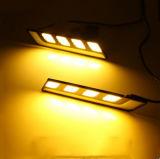 고성능 새로운 12V 일광 12W 옥수수 속 차 LED DRL 100% 방수 풍부한 안개 헤드라이트 LED