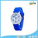 Relógio de pulso de quartzo de Watchcasual do pulso de disparo do esporte das mulheres do silicone