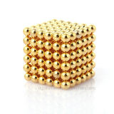 5mm N35 Gold Plating Permanente NdFeB Magic Magnetic Balls