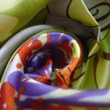 Sciarpe di seta dipinte a mano per la signora
