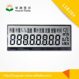 Écran LCD de chiffre du segment 4 des chiffres 7 de l'affichage à cristaux liquides 4