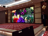 Exhibición publicitaria a todo color de interior P5