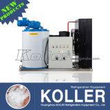 Capacity pequeno 1 Ton/Day Flake Ice Maker com Ice Storage Bin