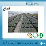 Galvanisierter Stahl zwei Schicht-Katastrophenhilfe-Zelte