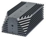 Dissipadores de calor térmicos personalizados da liga de alumínio da solução