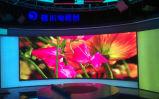 . Alto schermo a colori completo di luminosità P6 per visualizzazione locativa