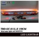 o diodo emissor de luz de 59 polegadas que adverte Lightbar com projector, luz de freio, desmontes e liga ilumina-se (TBD-GC-811L-E 150CM)