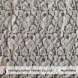 Tissu en nylon de lacet de coton de vente chaude pour le vêtement (M3063)