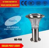 3Wステンレス鋼の太陽ポストライト