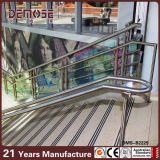 Barandillas exteriores de la escalera del acero inoxidable (DMS-B2231)