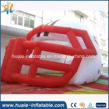 قماش ترويجيّ الملاكمة خوذة خيمة قابل للنفخ لأنّ لعب يعلن حادث