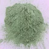 Pó verde do carboneto de silicone no polonês & no abrasivo