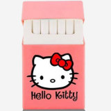 Design personalizado Hello Kitty Shape Fashionable Silicone Cigarette Case