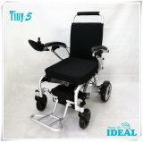 5 molto piccoli pieghevoli e sedia a rotelle portatile di potere